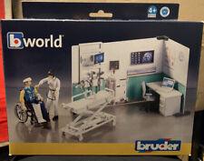 Bruder bworld 62711 Krankenstation 1:18 Actionfiguren Playset NEU OVP