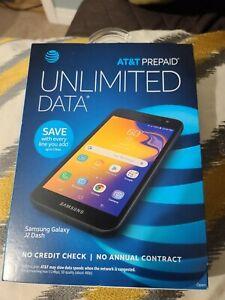Brand New AT&T PREPAID SAMSUNG Galaxy J2 Dash, 16GB Black - Prepaid Smartphone