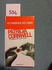 la fabbrica dei corpi di patricia cornwell ATT. tascabile