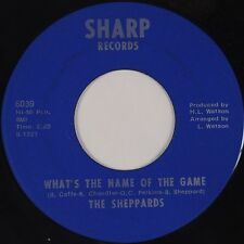 THE SHEPPARDS: What's the Name of the Game SHARP Northern Soul funk HEAR 45 #46