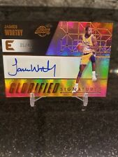 2017-18 Panini Essentials Glorified Signatures James Worthy - Lakers #/49