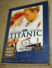 Titanic (DVD, 2005, 3-Disc Set, Collectors Edition/Widescreen),NEW & SEALED,RARE
