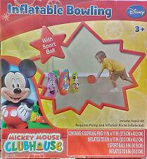 Disney mickey mouse gonflable bowling-avec sport boule en/extérieur jardin jeu