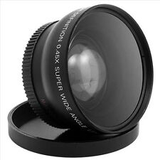 52MM 0.45 x Wide Angle Macro Lens for Nikon D3200 D3100 D5200 D5100   ADC