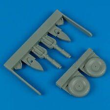 QUICKBOOST QB48257 Uncovered Wheels for Hasegawa® Kit Ju87 Stuka in 1:48