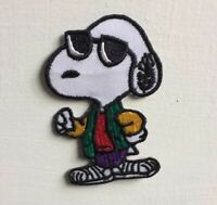 Snoopy the dog cartoon cute Animal Badge Iron or sew on Embroidered Patch