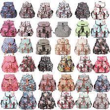 Buckle Canvas Backpack Handbags