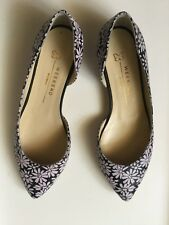 WEEKEND Max Mara elegant shoes Women's  light black-lilac color, size 37  Scarpe