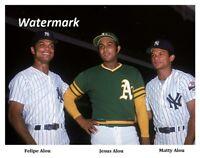 MLB 1973 The Alou Brothers Felipe Jesus & Matty Alou Color 8 X 10 Photo Picture