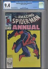AMAZING SPIDER-MAN Annual #17 CGC 9.4 1983 Marvel Kingpin App