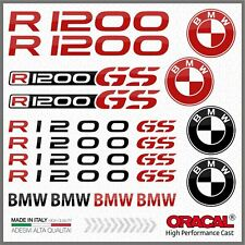 16x R1200GS Black/Red BMW MOTTORAD ADESIVI R1200 GS PEGATINA STICKERS R 1200