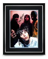 The Stone Roses Signed Photo Large Framed Ian Brown Display Autograph + COA