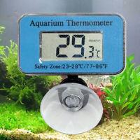 Digital LED Display Aquarium Fish Tank Waterproof Submersible Thermometer