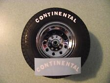 TAMIYA 1/14 SCALE TRACTOR OR TRAILER CONTINENTAL TIRE  VINYL DIE CUT DECALS