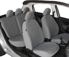 Sitzbezüge Schonbezüge GRAU Kunstleder VW GOLF II