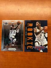 2 LOT 12-13 PANINI MARQUEE PRIZM ROOKIE CARDS RC KYRIE IRVING  RARE
