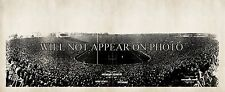 1927 Opening Michigan Stadium, Ohio State University vs Michigan Panoramic Photo