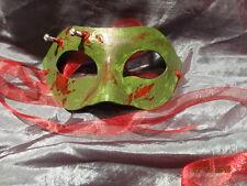 Zombie Mask (Handmade) One Of A Kind!