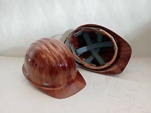 3x BAUHELM Schutzhelm Helm Bauarbeiterhelm Arbeitshelm BW Restposten