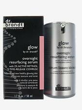 Glow by dr brandt overnight resurfacing serum with Active Retinol Complex 1.7 oz