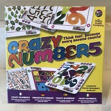 Crazy Numbers The Quick Thinking Numbers Game The Happy Puzzle Company