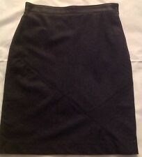 Nwt Vintage Oak by Ferre Gray Wool Blend Skirt Size 10