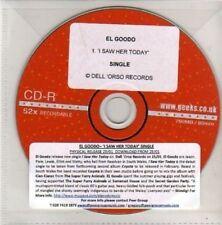 (AL376) El Goodo, I Saw Her Today - DJ CD