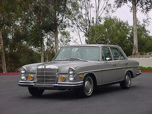 Mercedes Benz W108 250s, 250se,280se,280se 4.5, 280sel/4.5 interior carpet set