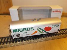 """Märklin H0 48150 Wagon frigorifique """"Migros"""",Insider - véhicules de l'année 2006"""