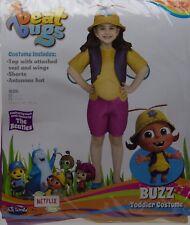 Fun World Beat Bugs Buzz Toddler Costume Size Small 2T/3T NIP