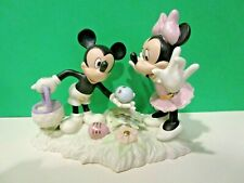 Lenox Mickey'S Easter Egg Hunt New in Box with Coa Minnie Mouse