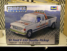 1991 FORD F-350 DUALLIE REVELL 1:24 SCALE PLASTIC MODEL TRUCK KIT