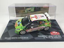 Peugeot 208 T16 R5 Rallye Monte Carlo 2016 Villa - 1/43 Voiture Car Diecast RB39