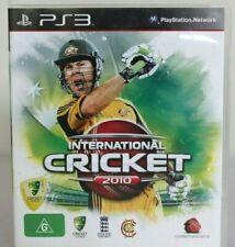 International Cricket 2010 (Sony PlayStation 3, 2009) PS3 Game