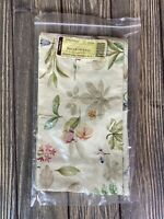 Longaberger Small Stow Away Fabric Basket Liner Botanical Fields 2391835