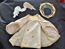 New ListingMadame Alexander Alexanderkins angel costume dress, halo wings 1954 Slw