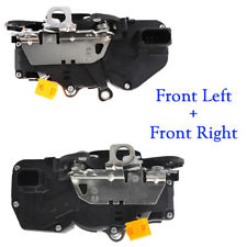 Door Lock Actuator Latch Front Left & Right for GMC Sierra Chevy Silverado 1500