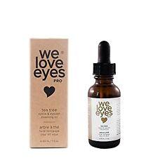 We Love Eyes All Natural Tea Tree Eyelid & Eyelash Cleansing Oil 1 oz
