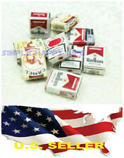 3 x 1/6 Cigarette Packs Paper Model for 1/6 Figure phicen Hot toys Dragon USA