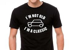 "Classic Mini Cooper T Shirt "" I`m not old"""