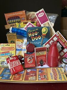 Vintage Junk Drawer Toy / Game Lot