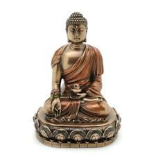 "MEDICINE BUDDHA STATUE 4.5"" Buddhist Wellness Deity Bronze Resin HIGH QUALIITY"