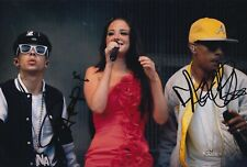 Dappy and Fazer Hand Signed 12x8 Photo - N Dubz - Music Autograph.