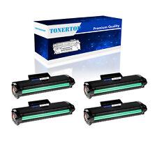 4PK MLT-D104S Black Toner Cartridge Compatible For Samsung D104S ML-1660 Printer
