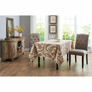 """Better Homes Paisley Tablecloth 52"""" X 70"""""""