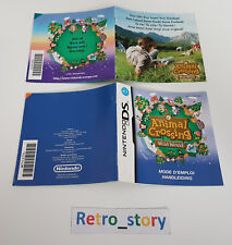 Nintendo DS Animal Crossing Wild World Notice / Instruction Manual