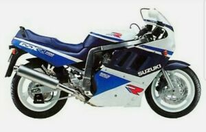 SUZUKI GSXR1100K 1989 FOR BLUE/WHITE VERSION DECAL KIT