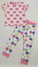 Girls New  Dotty Floral  Ex Classic Well Loved Store Pyjamas Age 6 Years 5-6