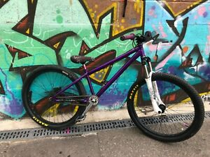 Revell 450r purple Custom Dirt Jumper with Marzocchi WC forks - lots of extras!