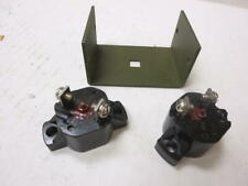 Mb Gpw Willys Ford Wwii Jeep G503 Weasel 10 & 20 Amp Circuit Breakers & Bracket